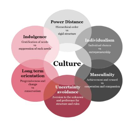 Hofstede's culture dimension