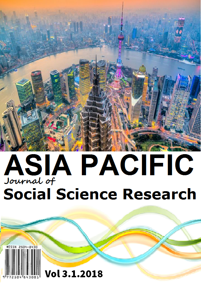 Asia Pacific Journal of Social Science Research (APJSSR)